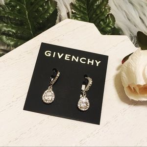 Givenchy Jewelry - GIVENCHY Silver Teardrop Earrings